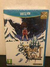 Finding Teddy II Definitive Edition Wii U PAL Exclusive Pixel Heart SEALED NEW