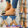 Fashion Women's Peep Toe Jelly Flats Ladies Boat Shoes Comfort Sandals Casual US