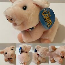 Collectible Vintage Meet Gordy Pink The Little Pig Who Hit It Big Plush 1994