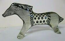 HTF LARGE Abraham Palatnik Lucite Acrylic Kinetic Horse Sculpture Figurine 2809