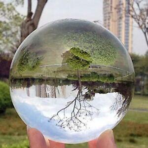 Glaskugel Fotokugel Kristallkugel Lensball Wahrsager und Halter Stand 60-200mm