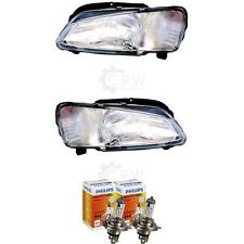Halogen Headlight Set Peugeot 106 Year 04/96- H4 with Indicator 56749409