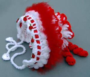Cutesy Baby Bonnet Crochet PATTERN. All Sizes. Easy!