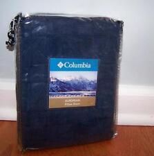 Columbia Sportswear Tacoma Blue Basket Weave Euro European Pillow Sham