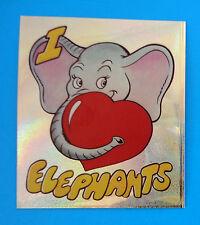 ECO STICKERS Panini 1990 - Figurina-Sticker - I LOVE ELEPHANTS 6 -Nuova-New