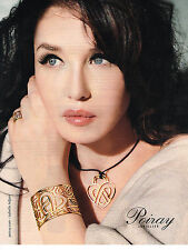PUBLICITE ADVERTISING  2012   POIRAY  joailllierie ISABELLE ADJANI