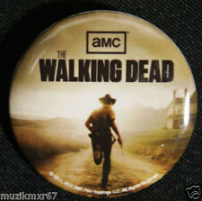 SDCC San Diego Comic Con 2012 AMC The Walking Dead Rick Grimes Pin-Back Button
