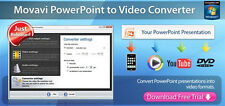 Movavi Powerpoint to Video Converter Business  , Convert PPT files to video