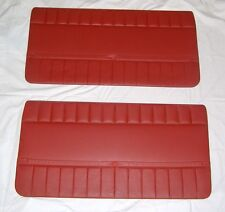 FIAT 127/ KIT PANNELLI PORTE ROSSI/ FRONT RED DOOR PANEL SET