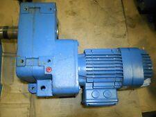 MANNESMANN DEMAG AF08 B3 111 / KBA80A6 REDUCER MOTOR ASSY.  NEW CONDITION NO BOX