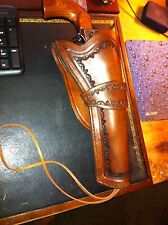 HOLSTER FOR COLT .45 WITH 7.5 INCH BARREL CUSTOM HAND TOOLED