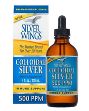 Natural Path Silver Wings Dietary Mineral Supplement, Colloidal Silver, 500 PPM,