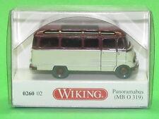 1:87 Wiking 026002 Panoramabus (MB O 319) hellelfenbein/weinrot