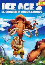 Ice Age 3: El origen de los dinosaurios. DVD
