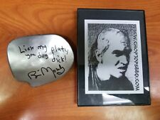 Bill Moseley - The Texas Chainsaw Massacre 2 - Chop Top Plate Autograph
