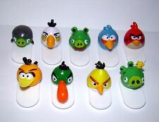Collectible Figures Angry Birds on Springboards Lot From Chocolate Egg Russia