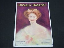 1912 NOVEMBER MCCALL'S MAGAZINE - FASHION ILLUSTRATIONS - CUT OUT PAGE - ST 154