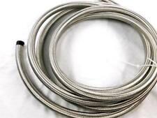 tubo an4 in treccia metallica interno in gomma sintetica adatto per olio benzina