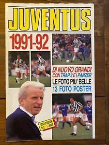 JUVENTUS  1991 - 92 - Star Poster 2 - Formato gigante Foto + Poster - R. Baggio