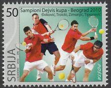 Serbia 2008 ☀ Tennis - Davis Cup Winners 1v ☀ MNH**