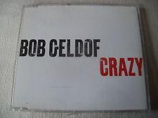 BOB GELDOF - CRAZY - UK PROMO CD SINGLE