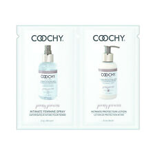 Coochy Intimate Feminine Spray and Protection Lotion Travel Foil Set