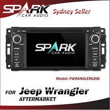 C-T AFTERMARKET GPS DVD SAT NAV IPOD BLUETOOTH SD USB FOR JEEP WRANGLER