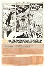 Flash #177 p.30 - Flash & Iris Embrace plus Villain Jailed '68 art by Ross Andru