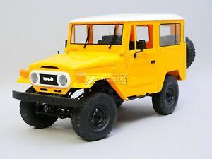 RC 1/16 Truck TOYOTA FJ40 Land Cruiser 4X4 RC Rock Crawler  *RTR* YELLOW