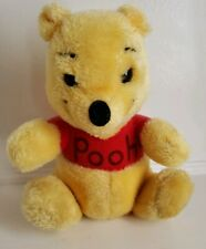 Vintage Winnie the Pooh Plush  Classic Pooh 9 inch Made in Korea