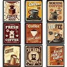 Set of 9 Vintage Coffee Wall Art Prints Coffee House Posters for Adults