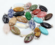 Wholesale Lot 30pcs MIX Natural Stone Anomalous Gemstone Necklace Pendant