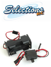 ACOMS Receiver PACK / Battery Box 4.8V FOR AA X 4 Futaba Lead Nitro Car + Switch