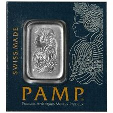 Platinum 1 Gram 1g Pamp Suisse Bar .9999 Fine Multigram Fortuna (In Assay) Gift
