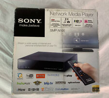 Sony SMP-N100 Streaming Network Media Player | Good Used w/ Original Box Remote