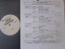 DEEP PURPLE Live WOLFSBANE Guest Disc Jockey 1989 PROMO ONLY LP