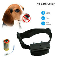 Collier Anti Aboiement Electrique Choc Dressage Training Shock Collar Pr