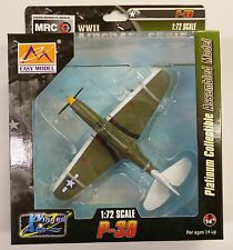 Easy Model MRC 1/72 P-39Q USAAF 71st TRS/82nd TRG WWII Built Up Model 36320