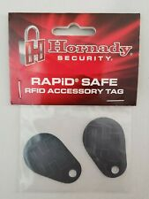 Hornady 98161 Security Rapid Safe Key Chain Fob Tag Rfid Trigger 2-Pack New