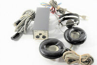 Untested Vintage STAX SR-3 Ear Speaker Headphone SRD-5 Amplifier- FOR PARTS