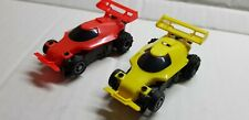 TYCO BUGGIES ORANGE & YELLOW UNPAINTED.RARE!  UNUSED ! LOOK! FREESHIP!