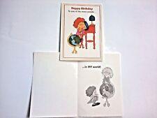 1 Birthday Greeting Card/Envelope Humorous Adult Nicest People My World Friend