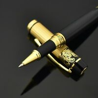 Hero Black Metal Luxury Roller Ballpoint Pen For Executive Business Writing