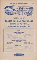 British Rail. London Midland. 1962. Birmingham. Walsall. Wolverhampton.  X2.542