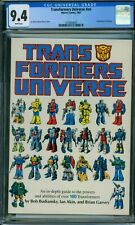 Transformers Universe #nn CGC 9.4 - White Pages