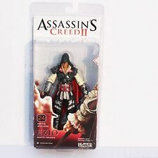 NECA Assassins Creed 2 Series 1 Action Figure Black Ezio Black Cloak