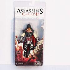 NECA Assassins Creed 2 Series 1 Action Figure Black Ezio Black Cloak