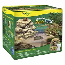 Reptile Filter Aquarium 55-Gal Tank Frog Turtle Newt Filtration Waterfall Decor
