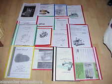 SINGER 29k Sewing Machine Operator Manual Photocopies Machine Is Not Supplied