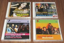 Japan PROMO ONLY all with MADONNA tracks! 4 x JAPAN various artist CD S/S set #2